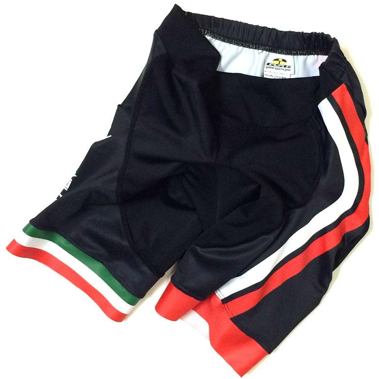 セブンイタリア GT-7R レディース Shorts ブラック/レッド