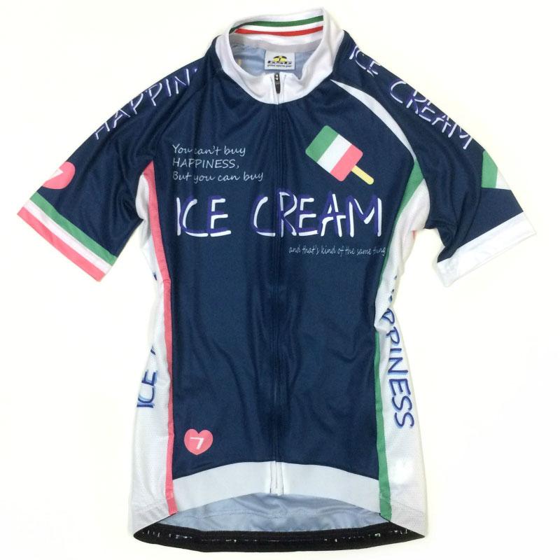セブンイタリア Ice Cream レディース Jersey ネイビー