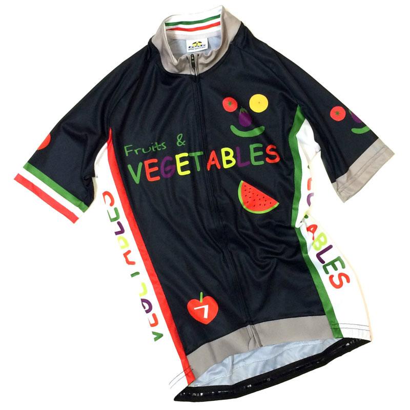 セブンイタリア Vegetables レディース Jersey  ネイビー