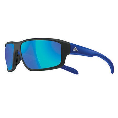 アディダス a424 01 6055kumacross 2.0 マットブラック/ブルー グレイ/ブルーミラー アイウェア