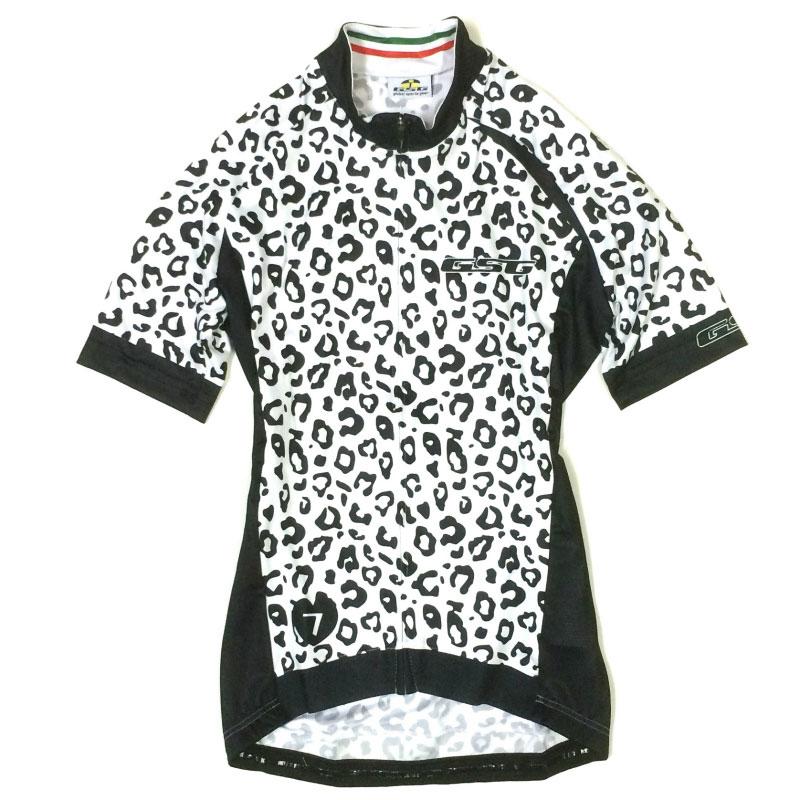 GSG Leopard Lady Jersey ホワイト