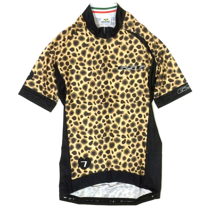 GSG Leopard Lady Jersey イエロー