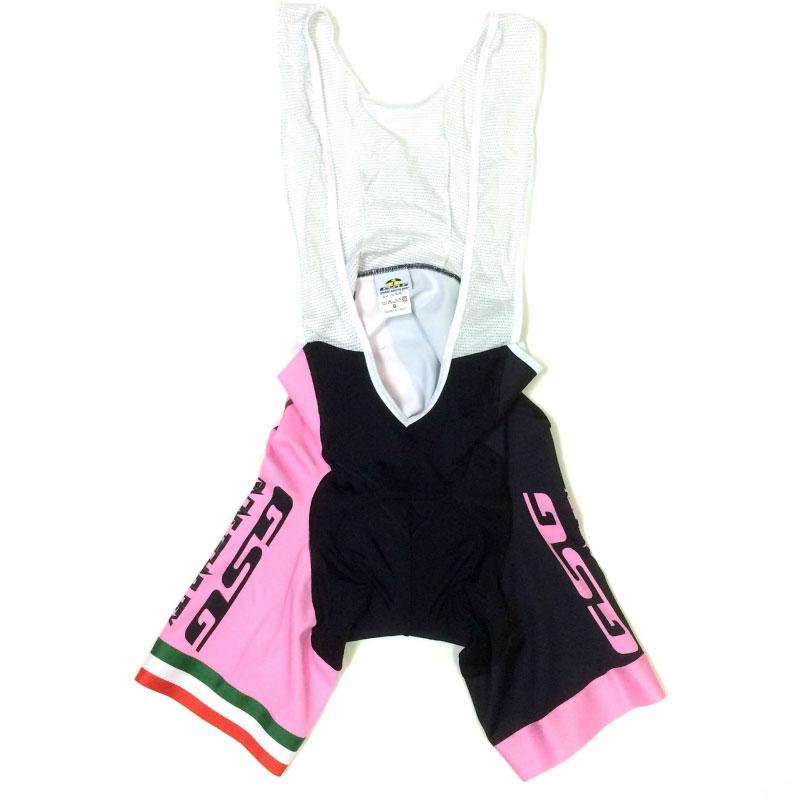 【超現品特価】GSG Mezzaluna Bibshorts ピンク/ブラック 0724