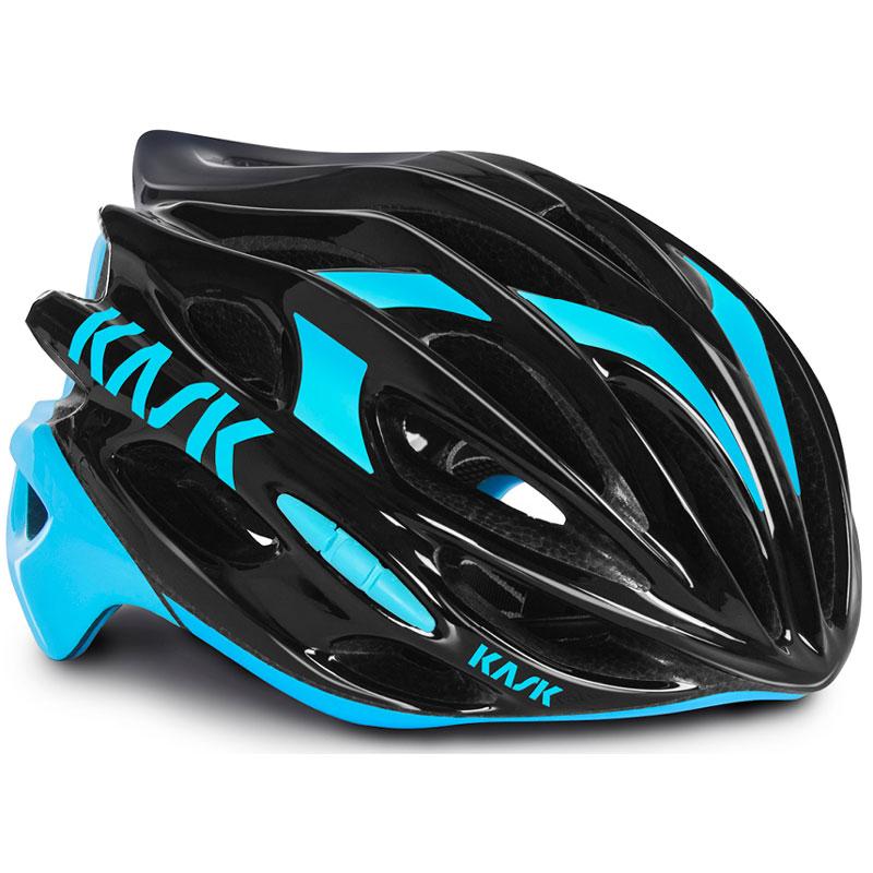 【現品特価】KASK MOJITO ブラック/ライトブルー ヘルメット
