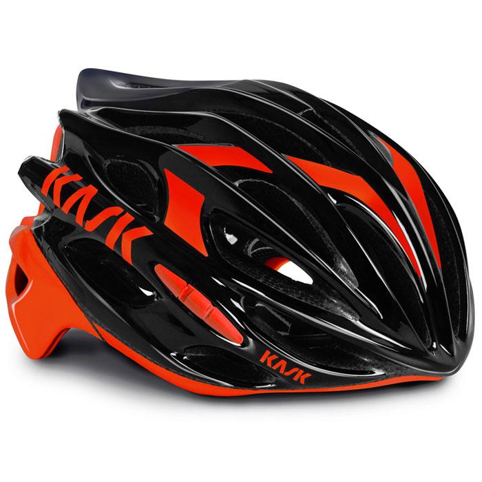 【現品特価】KASK MOJITO ブラック/レッド ヘルメット