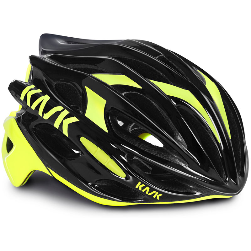 【現品特価】KASK MOJITO ブラック/イエローフルオ ヘルメット
