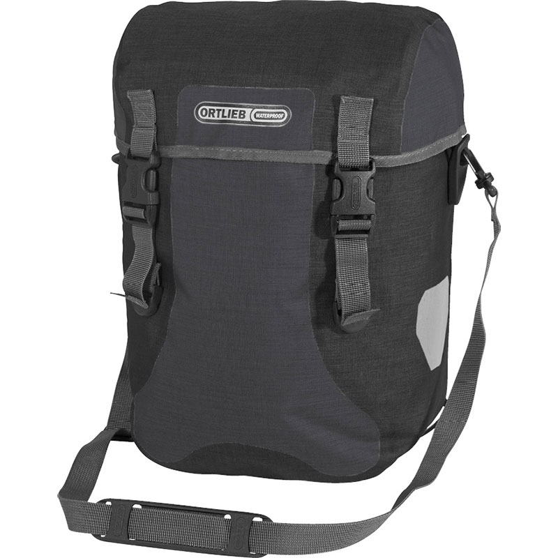 オルトリーブ スポーツパッカープラス F4904 グラナイト/ブラック サイドバッグ
