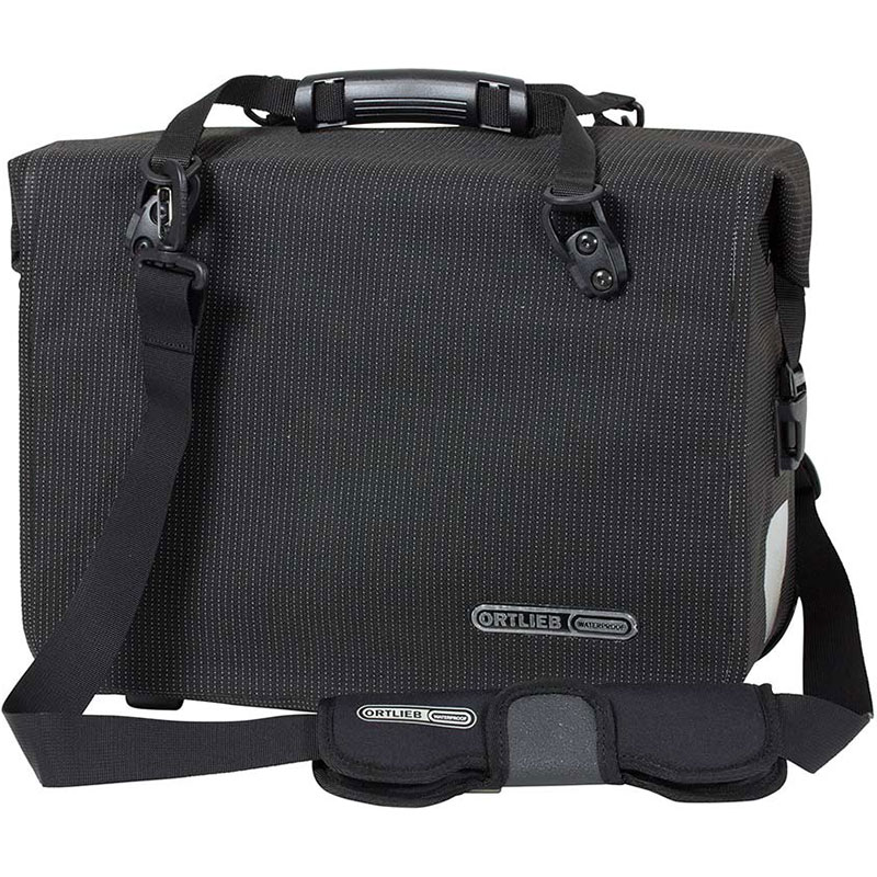 オルトリーブ オフィスバッグ QL2.1 HV F70971 ブラックリフレックス Lサイドバッグ