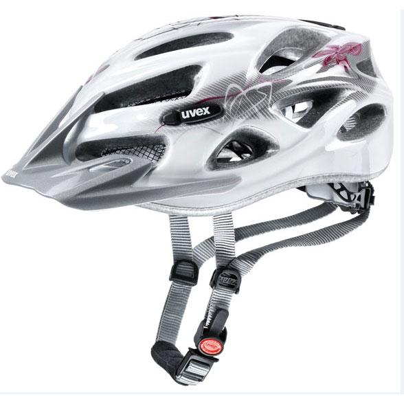 ウベックス ONYX ホワイト/レッド ヘルメット