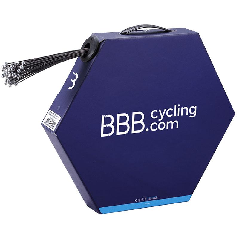 BBB ブレーキワイヤー BCB-45M MTB用 1.5mm×2000mm PTFEコーティング 50本