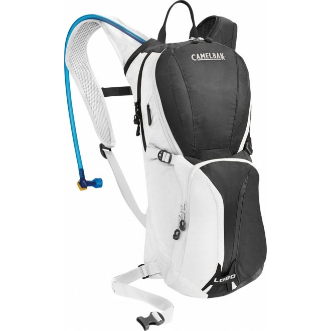 キャメルバック ロボ チャコール/ホワイト ハイドレーションバッグ