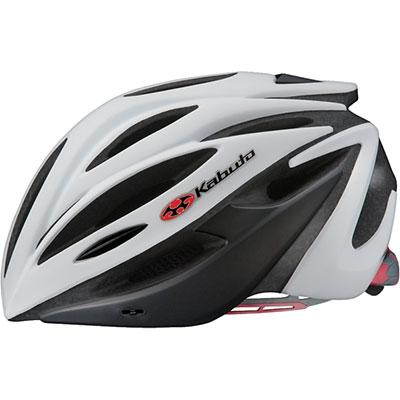 OGKカブト アルフェ マットホワイトブラック ヘルメット