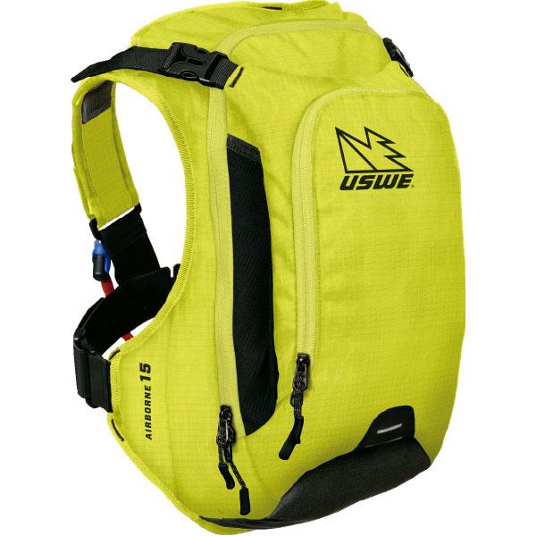 【急行】ユースウィー AIRBORNE 15 クレイジーイエロー ハイドレーションバッグ バックパック