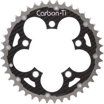 CarbonTi チェーンリング 94 アウター チタン/カーボン 42T