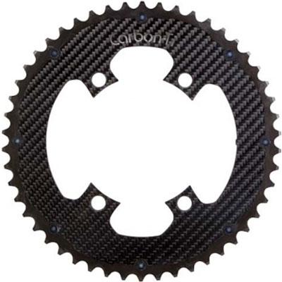 CarbonTi X-Ring ROAD Al/Ca 110mm アウターチェーンリング 4arms