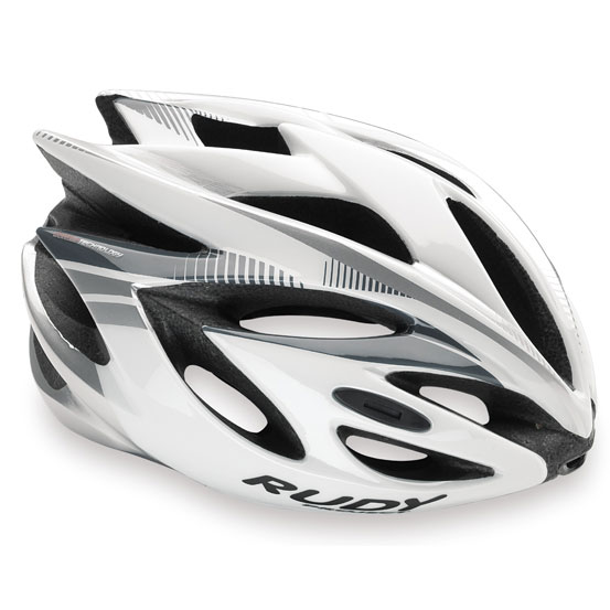 ルディプロジェクト ラッシュ ホワイト/シルバー ヘルメット