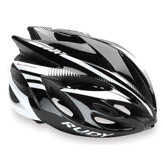 ルディプロジェクト ラッシュ ブラック/ホワイト ヘルメット