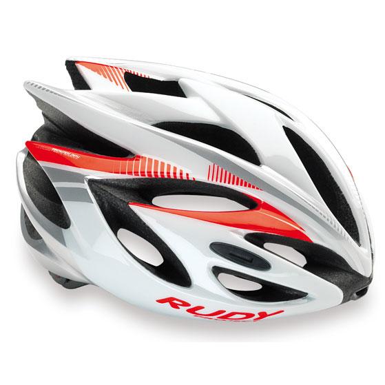 ルディプロジェクト ラッシュ ホワイト/レッド ヘルメット