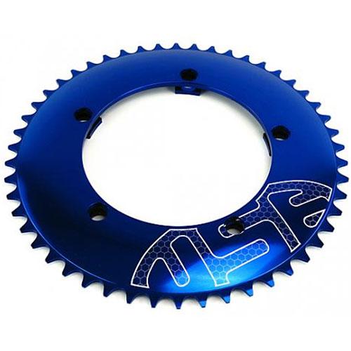 USE チェーンリング130PCD ブルー