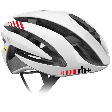 zerorh+ EHX6071 Z ALPHA MIPS 02シャイニーホワイト/シャイニーホワイト/マットホワイト ヘルメット