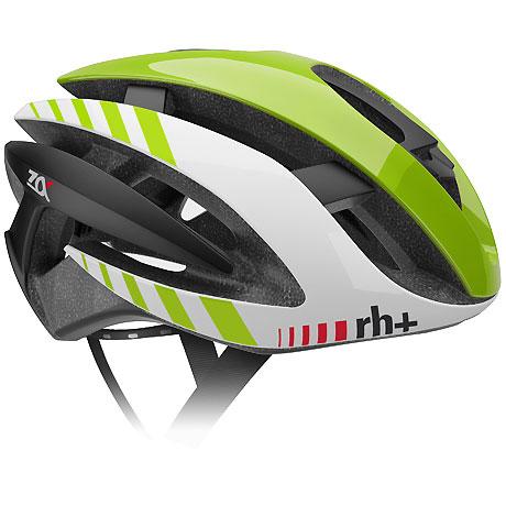 zerorh+ EHX6072 Z ALPHA 06シャイニーグリーン/シャイニーホワイト/マットブラック ヘルメット