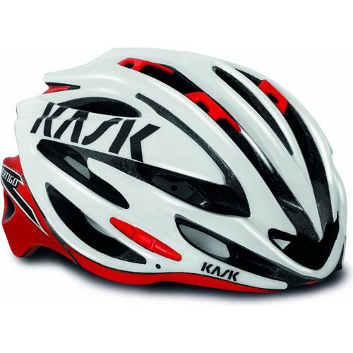 【現品特価】KASK VERTIGO2.0 ホワイト/レッド ヘルメット