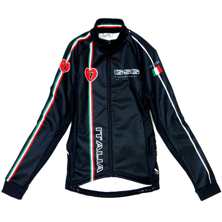 セブンイタリア Castelfranco Jacket Black レディース
