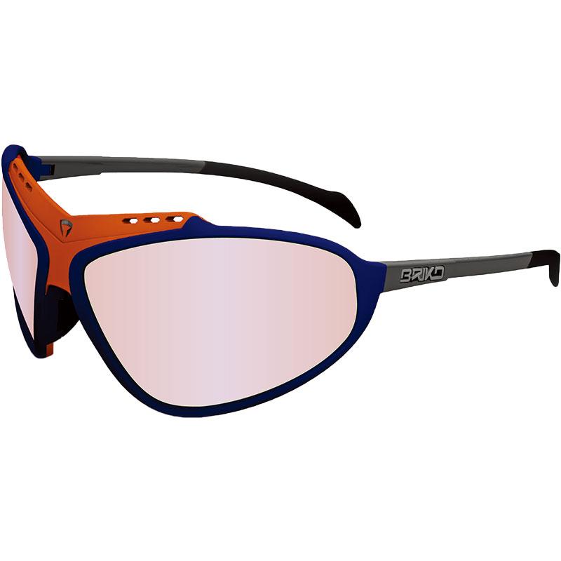 ブリコ スティンガーエボPH マットブルー/マットオレンジ サングラス 調光レンズ