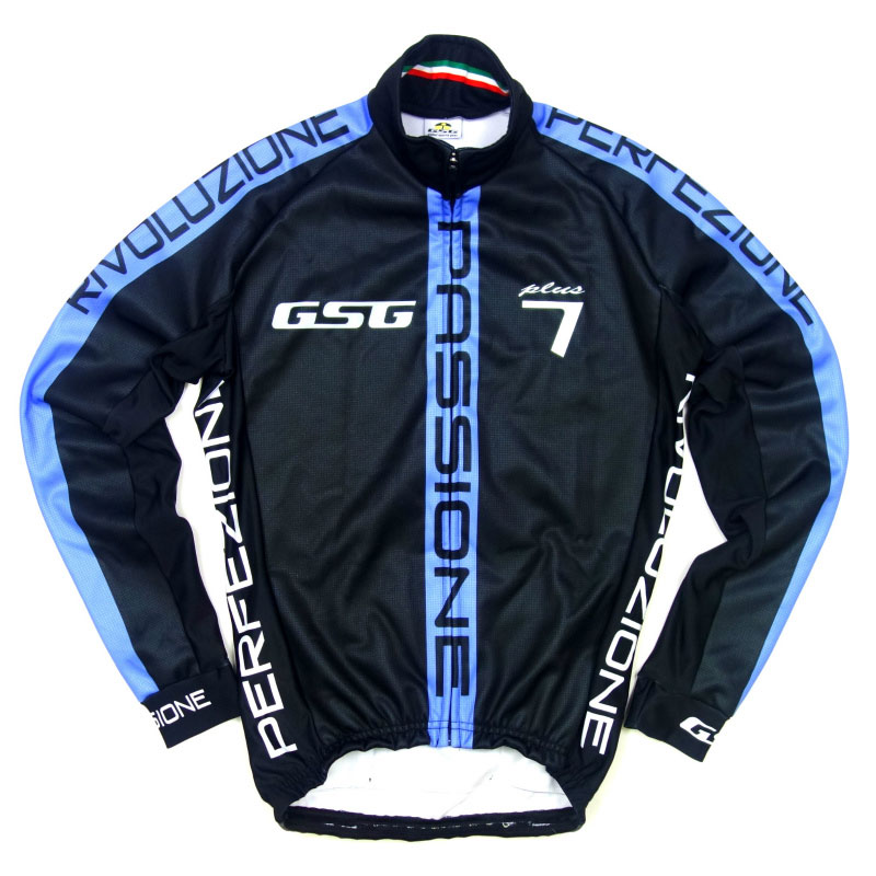 【現品特価】GSG G7 Passione Jacket Black/Blue