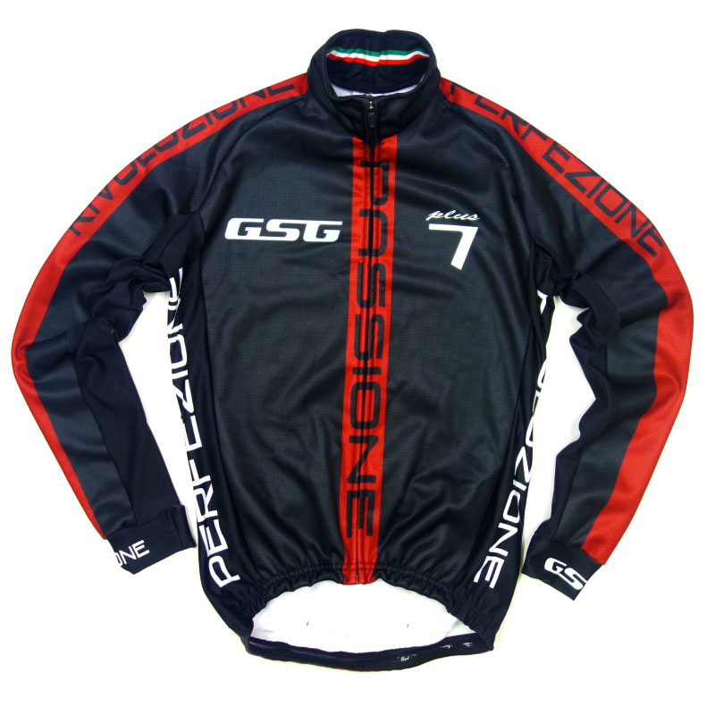 GSG G7 Passione Jacket Black/Red