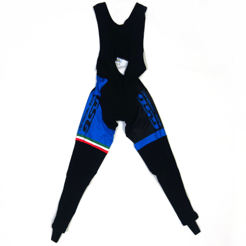GSG Mezzaluna Bibtights Blue/Black