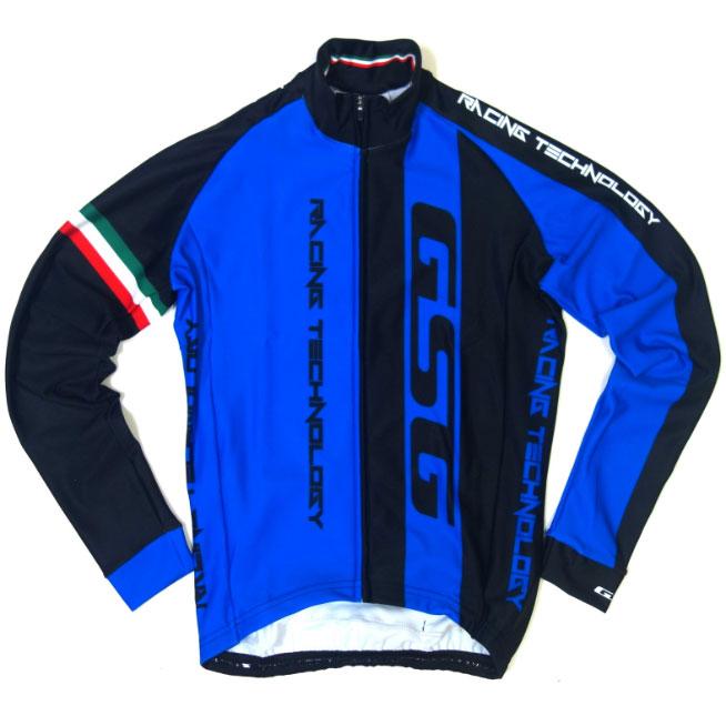GSG Mezzaluna LS Jersey Blue/Black
