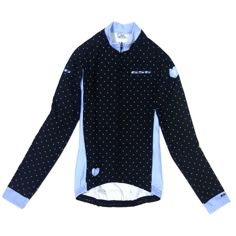 GSG Polka Lady LS Jersey Black/Blue