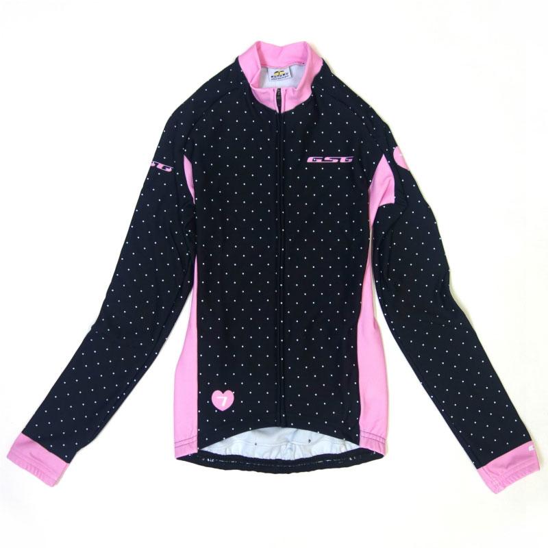 【現品特価】GSG Polka Lady LS Jersey Black/Pink