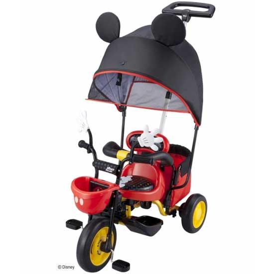 アイデス カーゴサンシェード ミッキーマウス 三輪車