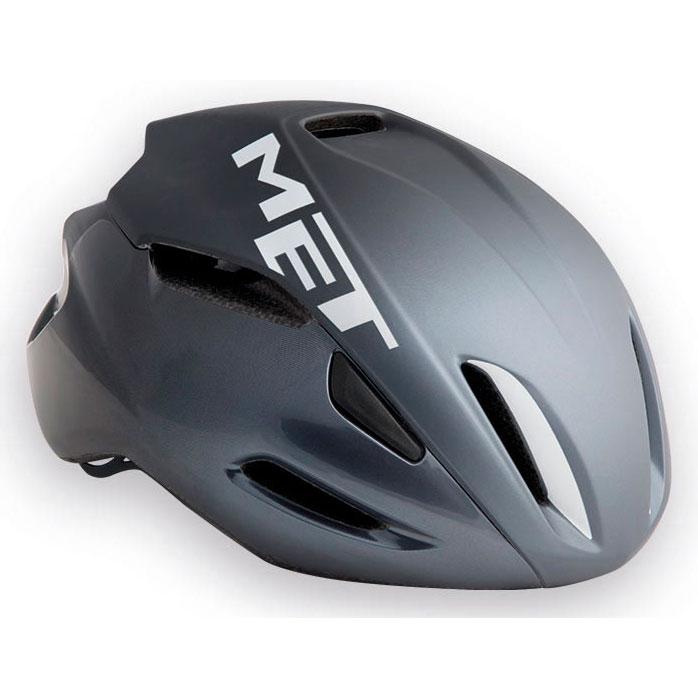 メット マンタ HES ブラック×ホワイト ヘルメット