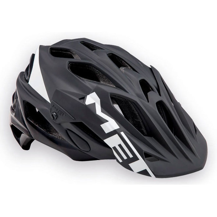 メット パラベリウムHES ブラック×ホワイト ヘルメット