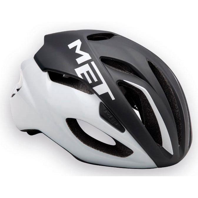 メット リヴァーレ HES ブラック×ホワイト ヘルメット