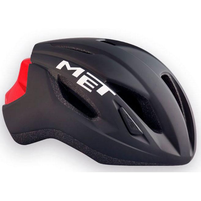 メット ストラーレ ブラック×レッド ヘルメット