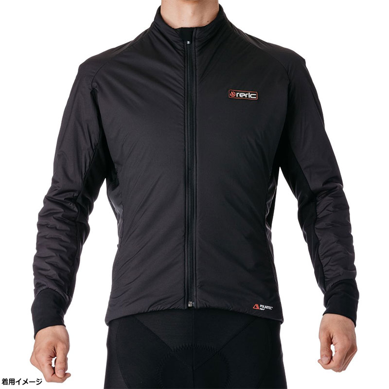 レリック Adraインサレーションミディアムジャケット ブラック