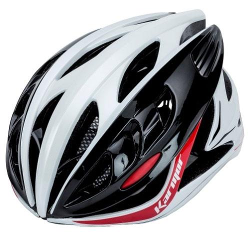 【急行】カーマー DITRO(ディトロ) ホワイト/ブラック/レッド ヘルメット Karmor