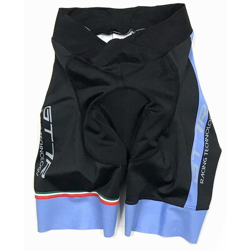 セブンイタリア GT-7RR レディース Shorts ブラック/ブルー