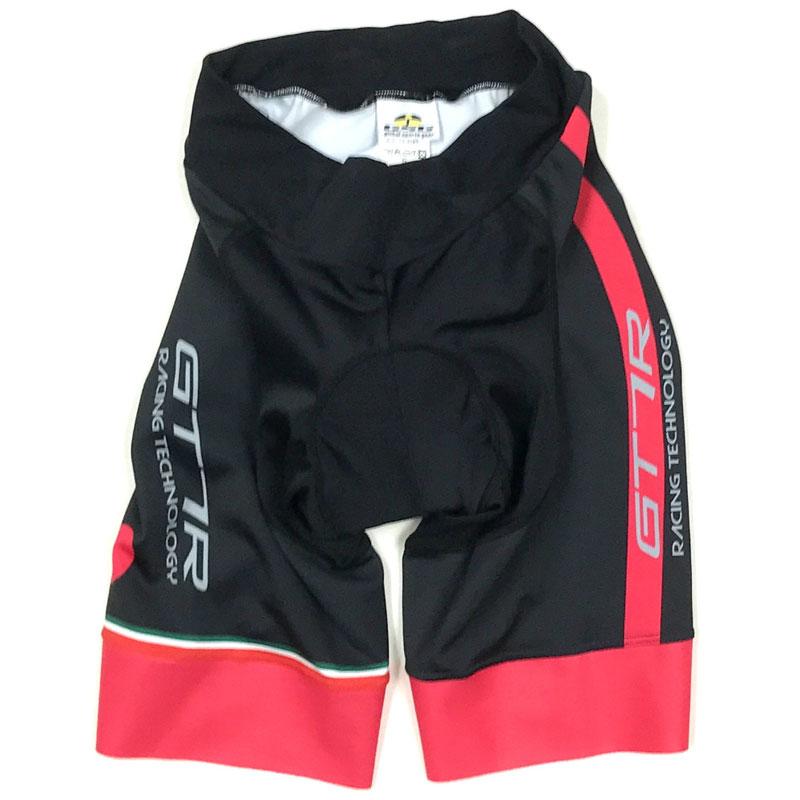 セブンイタリア GT-7RR レディース Shorts ブラック/レッド
