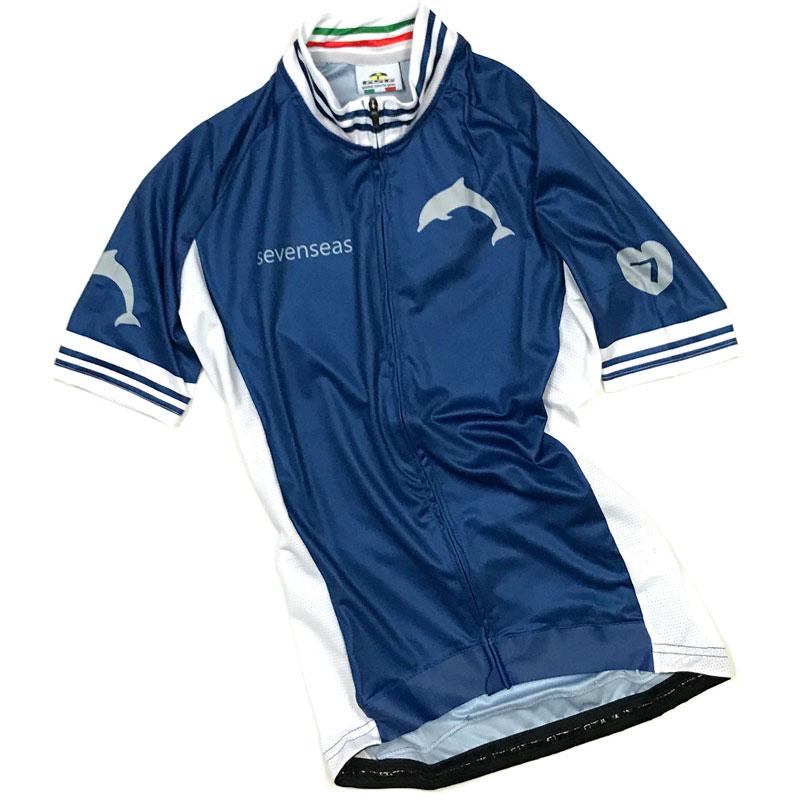 セブンイタリア Sevenseas レディース Jersey ブルー