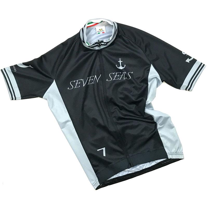 セブンイタリア Sevenseas Jersey ブラック