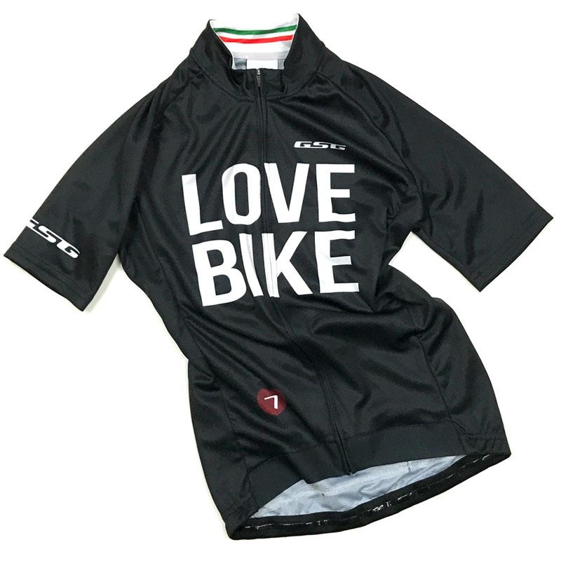 GSG Love Bike Lady Jersey ブラック
