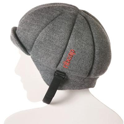 リブキャップ Jackson グレー カジュアルヘルメット