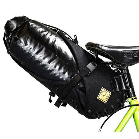 リストラップ サドルバッグ(14Lドライバッグ付) ブラック