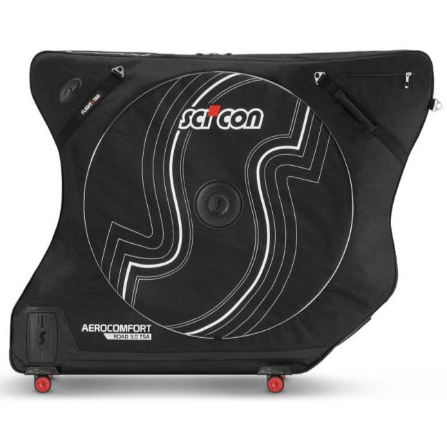 【同梱不可】シーコン エアロコンフォートプラス3.0 ブラック 輸行バッグ