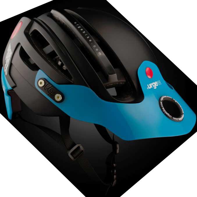 【SALE】アージュ Endur-o-Matic 2 (フレックスバイザー) マットブラック/ブルーバイザー ヘルメット